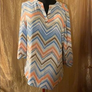 Chico's tunic blouse size-XL